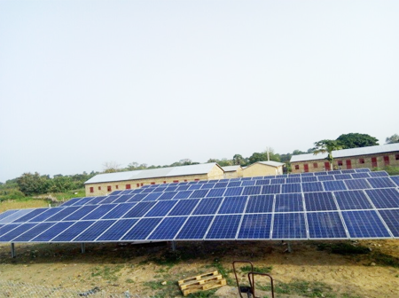centrale solaire de 40kva